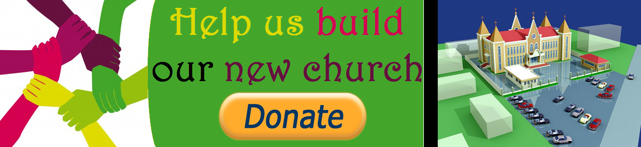 Help us build the new church for God
