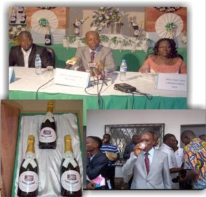 Déhachampe (le champagne made in Togo)