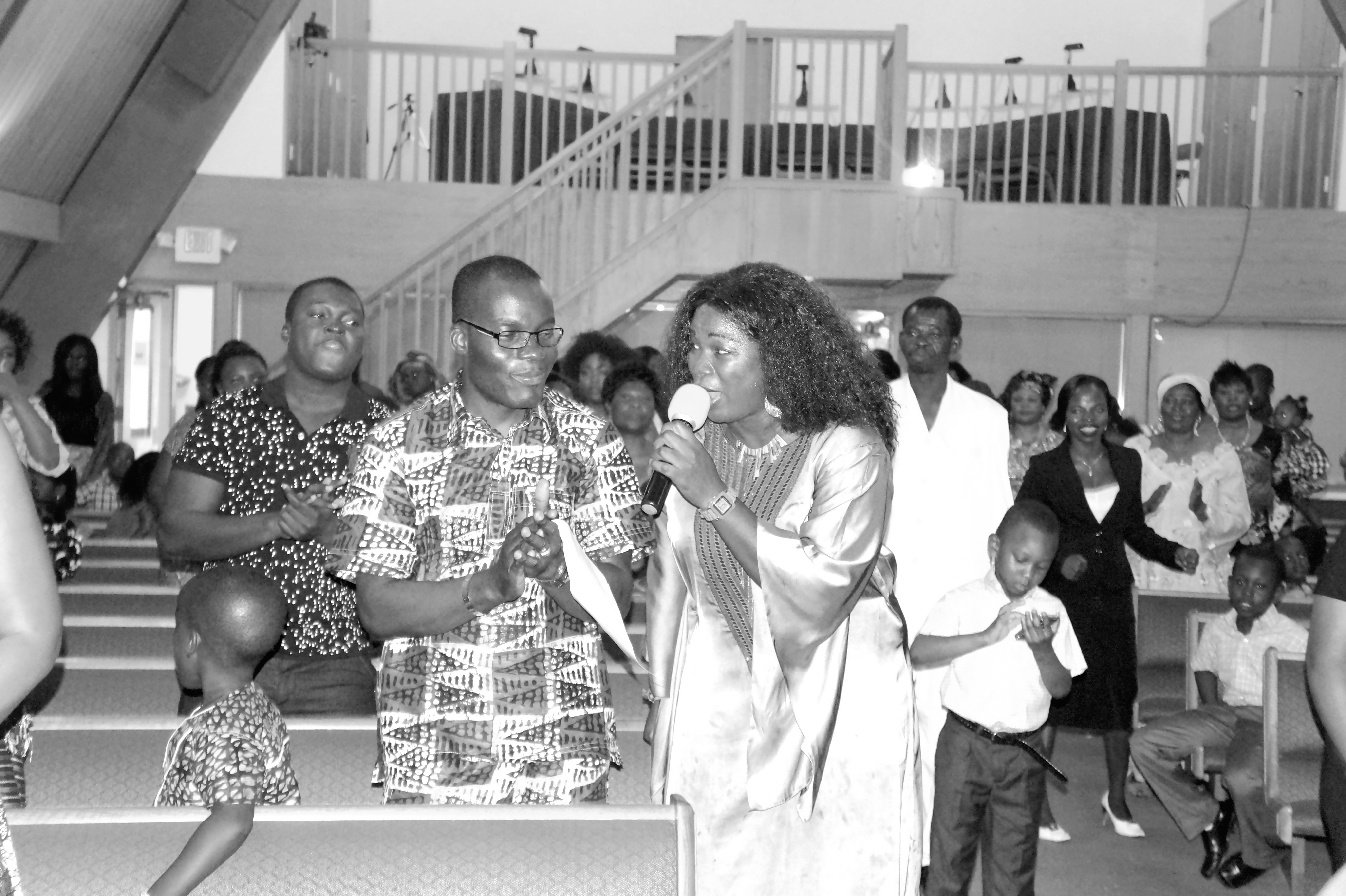 Many people were blessed that Night by my God given talent