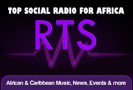 Logo - Top Social Radio for Africa & the Caribbean